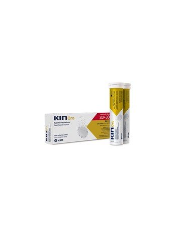 PACK KIN ORO PASTILHAS EFERVESCENTES - LEVE 60 PAGUE 30 TUBO