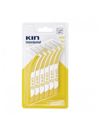 ESCOVA INTERDENTAL KIN MINI 1,1 MM